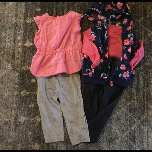 Carters mix n' match set of four Fall Fashion